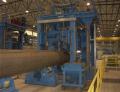 Spiralrohrfertigung - Spiral pipe manufacturing